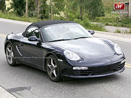 Spy Photos: Porsche Boxster Facelift: titulní fotka