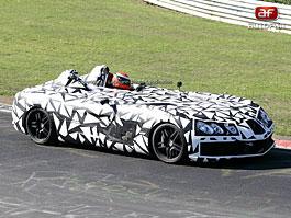 Spy Photos: Mercedes SLR Speedster: titulní fotka