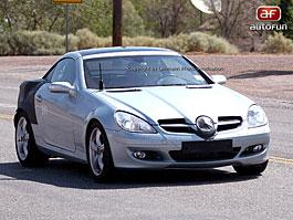 Spy Photos: Mercedes SLK Glassroof: titulní fotka