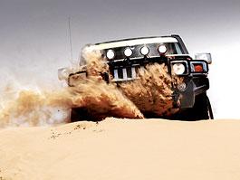 Hummer Driving Academy: s Hummerem na Sahaře: titulní fotka