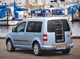 VW Caddy Topos Sail Concept - s lehátkem na střeše: titulní fotka