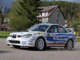 Pražský Rallysprint opět pod taktovkou Subaru: titulní fotka