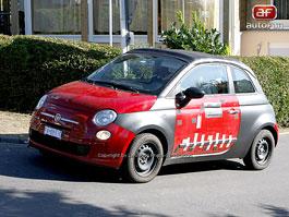 Spy Photos: Fiat 500 Cabrio: titulní fotka
