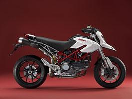Ducati Multistrada a Hypermotard v bíle perleti: titulní fotka