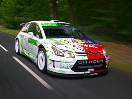 Paříž 2008: Citroën C4 WRC HYmotion4 – hybridní závoďák: titulní fotka