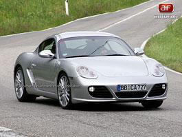 Spy Photos: Porsche Cayman téměř bez maskování: titulní fotka