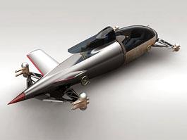 L.A. Design Challenge: BMW Salt Flat Racer: titulní fotka