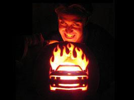 Automobilové tipy na Halloweenskou výzdobu: titulní fotka