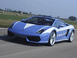 Policejní Lamborghini Gallardo LP560-4: titulní fotka
