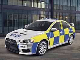 Mitsubishi EVO X: nové stíhací vozy pro anglickou policii?: titulní fotka