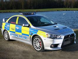 Policie v Jižním Yorkšíru dovršila trilogii vozů Mitsubishi EVO: titulní fotka