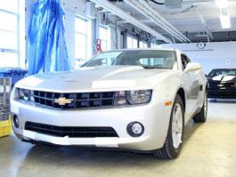 Chevrolet Camaro: v Kanadě trénují výrobu: titulní fotka