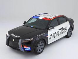 Carbon Police Car - do služby za tři roky: titulní fotka