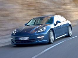 Porsche Panamera: další informace: titulní fotka