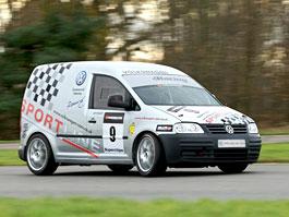 Volkswagen Caddy TDI: závodní dodávka na start: titulní fotka