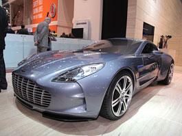 Autosalon Ženeva:  Aston Martin One-77: titulní fotka