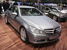 Autosalon Ženeva: Mercedes-Benz E-Coupe živě: titulní fotka