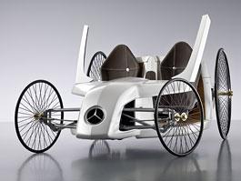 Mercedes-Benz F-CELL Roadster Concept: Budoucnost zkřížená s minulostí: titulní fotka