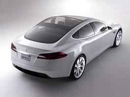 Tesla Model S: sportovní sedan na baterky: titulní fotka