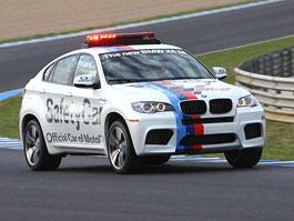 BMW X6 M jako Safety Car pro MotoGP: titulní fotka