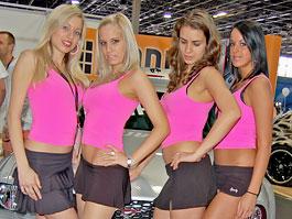 Tuning Show Budapešť - Babes: titulní fotka