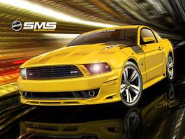 SMS 460 Mustang: Steve Saleen oslavuje a naděluje: titulní fotka