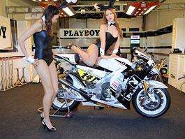 Playboy zaječice v MotoGP: titulní fotka