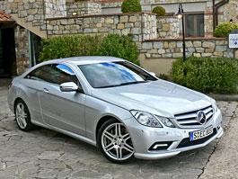 Za volantem: Mercedes-Benz E Coupe: titulní fotka