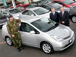 Armádní Prius: netradiční služba vlasti: titulní fotka