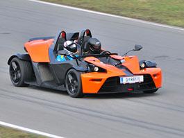 Za volantem: KTM X-Bow: titulní fotka