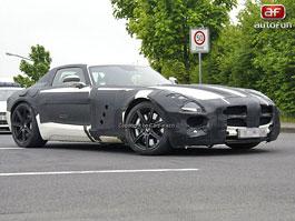 Spy Photos: Mercedes SLC Gullwing: titulní fotka