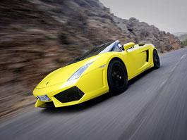 Fotogalerie: Lamborghini Gallardo LP 560-4 Spyder se vší parádou: titulní fotka