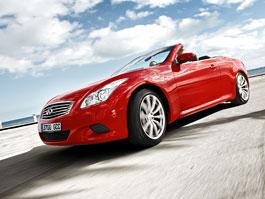 Infiniti G37 Cabrio na našem trhu: vítr ve vlasech za 1,4 milionu: titulní fotka