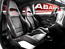 Abarth 500 a Punto Abarth dostanou nová sedadla: titulní fotka