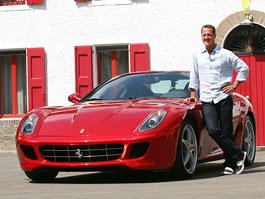 Nové Ferrari 599 GTB Fiorano HGTE: otestováno samotným Schumacherem: titulní fotka