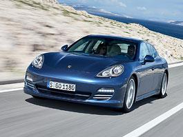 Porsche Panamera: ze všech stran: titulní fotka