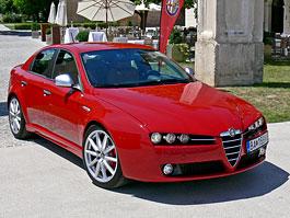 Za volantem: Alfa Romeo 159 Ti 1.75 TBi: titulní fotka