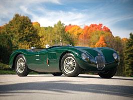 Jaguar C-Type: slavná kočka předmětem aukce: titulní fotka