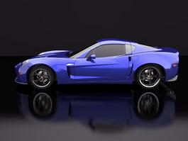 SV 9 Competizione: Corvette s italsky stylizovaným kabátem: titulní fotka