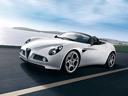 Alfa Romeo 8C Spider: tři kousky míří i k nám!: titulní fotka