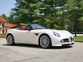 Za volantem: Alfa Romeo 8C Spider: titulní fotka