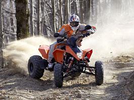 KTM ATV 2010 přijíždí s homologací na silnice: titulní fotka