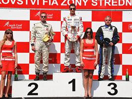 Jiří Mičánek vyhrál v Mostě sprint do 3500 ccm: titulní fotka