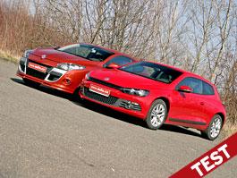 Srovnávací test: VW Scirocco 2,0 TSI vs. Renault Mégane Coupé 2,0 TCe: titulní fotka