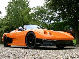 Salica GT: potomek Noble M12 bez střechy: titulní fotka