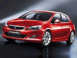 Nový Opel Astra s oblečkem od Irmschera: titulní fotka