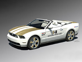 Ford Mustang GT: pace car od Hurst Performance Vehicles: titulní fotka