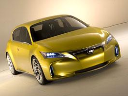 Lexus LF-Ch: První foto přídě konceptu: titulní fotka