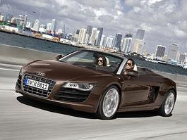 Audi R8 Spyder: první série fotografií bez střechy: titulní fotka