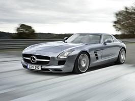 Mercedes-Benz SLS AMG: první série fotek exteriéru (nové foto): titulní fotka